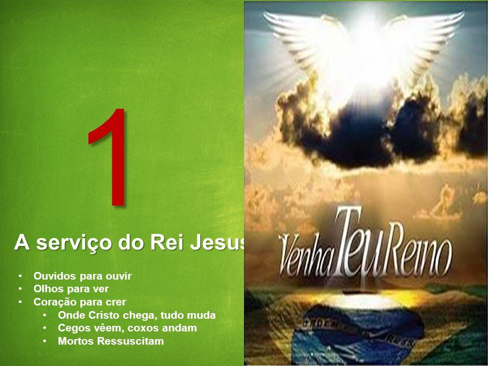 2 GE Energy 5/29/2014 A serviço do Rei Jesus 1 Ouvidos para ouvir Olhos para ver Coração para crer Onde Cristo chega, tudo muda Cegos vêem, coxos anda