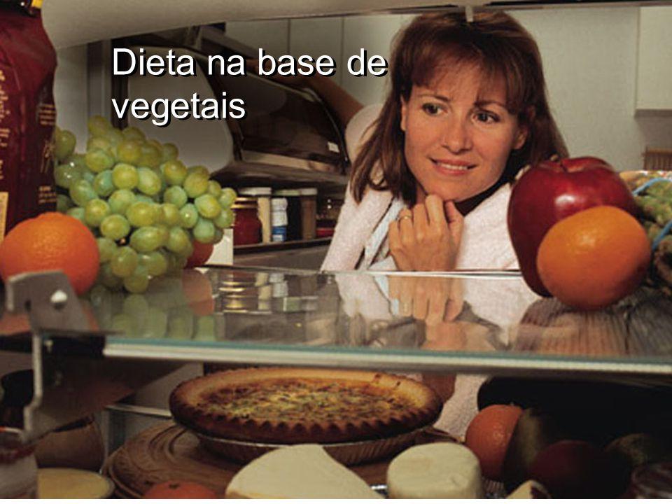 Dieta na base de vegetais