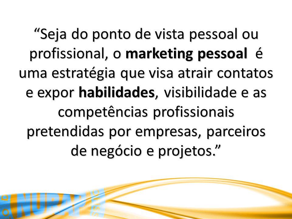 Seja do ponto de vista pessoal ou profissional, o marketing pessoal é uma estratégia que visa atrair contatos e expor habilidades, visibilidade e as c