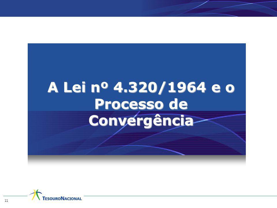 A Lei nº 4.320/1964 e o Processo de Convergência 11