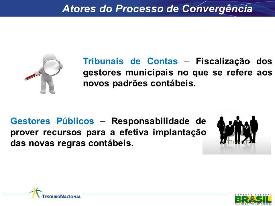 Tribunais de Contas – Fiscalização dos gestores municipais no que se refere aos novos padrões contábeis. Gestores Públicos – Responsabilidade de prove