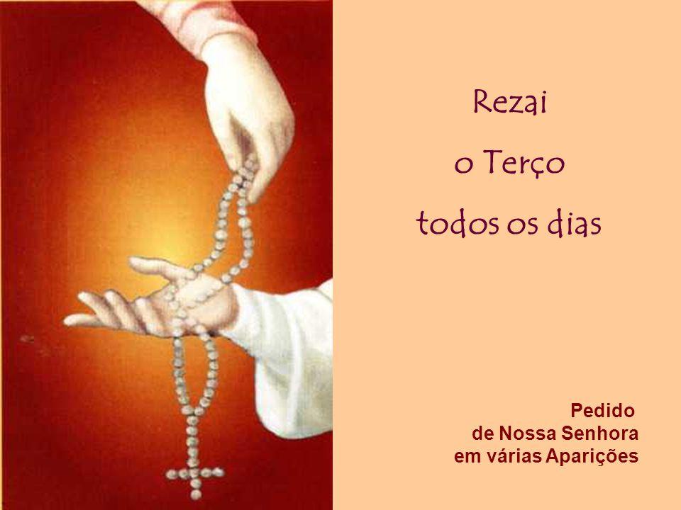 Que tal nesse Mês Outubro de dedicado ao Rosário retomar ou reforçar essa oração simples e popular que conservou e alimentou a fé de muitas pessoas.