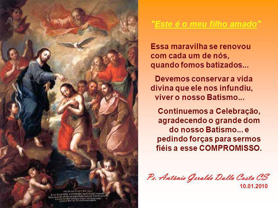 O BATISMO nos tornou: - CRISTÃOS: seguidores de Cristo... - Para isso precisa: - Conhecer: estudar... ler... cursos... (Catequese permanente...) - Viv
