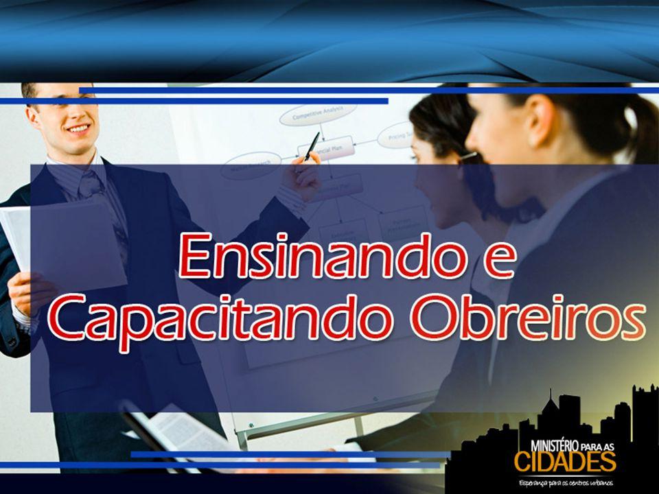 O preparo deve estar ligado a um contrato de serviço É necessário que aqueles que se ligam às missões sejam íntegros e assumam a obra de modo organizado.