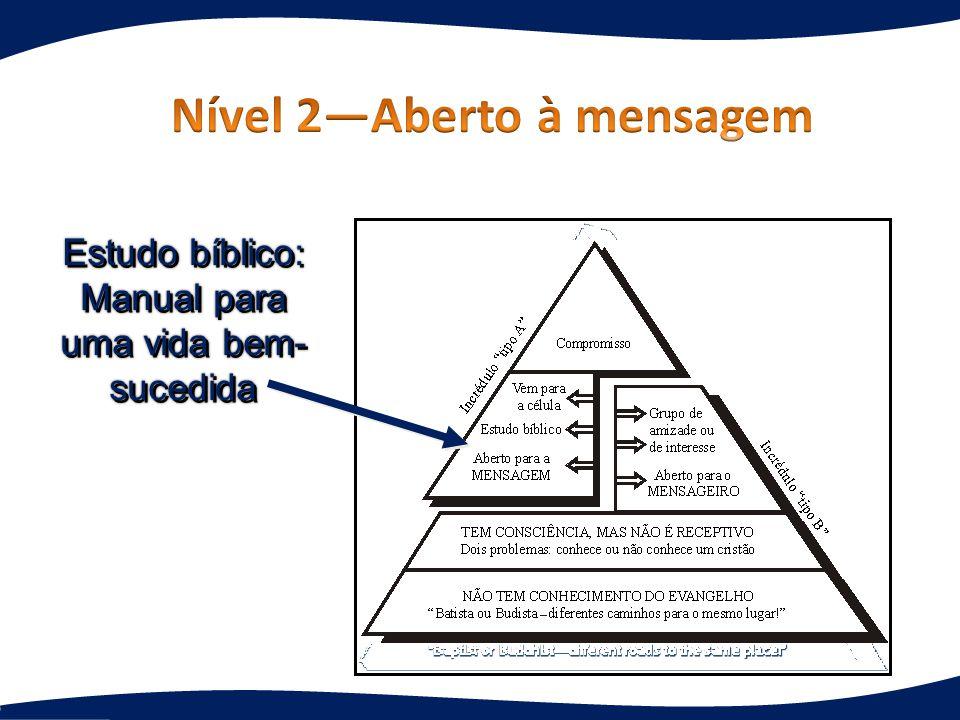 Estudo bíblico: Manual para uma vida bem- sucedida