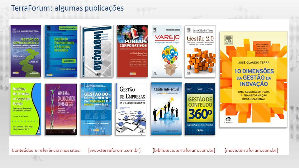 Beto do Valle - Tutorial Gestão do Conhecimento e Aprendizagem Colaborativa Conteúdos e referências nos sites: [www.terraforum.com.br][biblioteca.terr