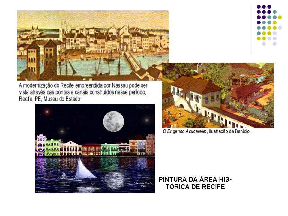 PINTURA DA ÁREA HIS- TÓRICA DE RECIFE