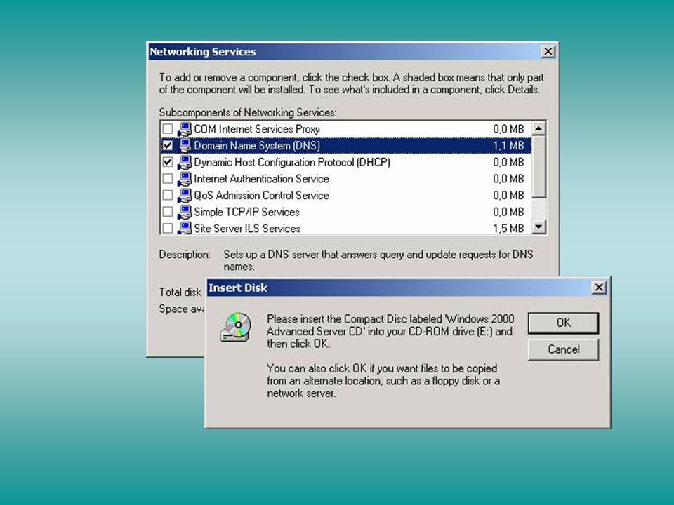 Iniciar > Programas > Ferramentas Administrativas > DNS Zona de Pesquisa Direta Botão direito em Zona de Pesquisa Direta (Forward Lookup Zone)