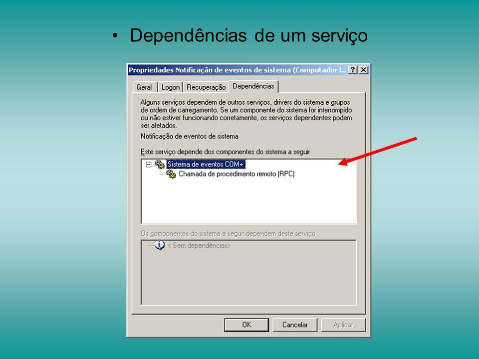 Serviço de registro remoto: Permite manipular o registro do Windows remotamente.