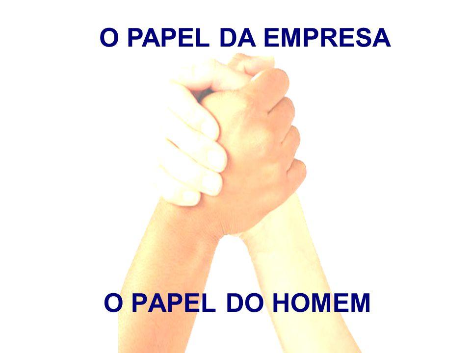 O PAPEL DO HOMEM O PAPEL DA EMPRESA