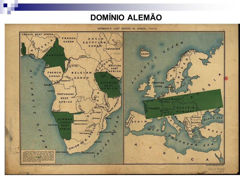 DOMÍNIO ALEMÃO