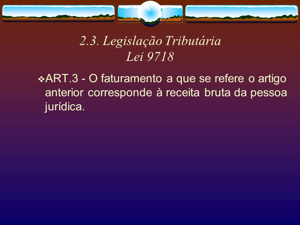 2.3. Legislação Tributária MP 2158-35… § 2 º Relativamente à s opera ç ões referidas nos incisos I a V do