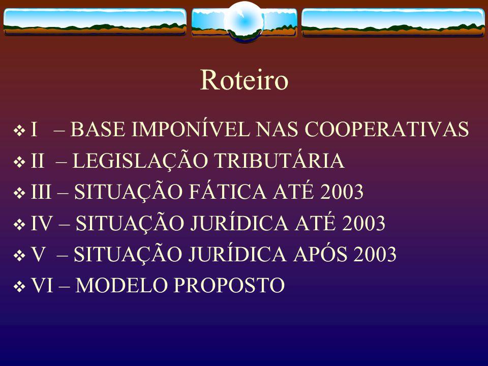 A TRIBUTAÇÃO NAS COOPERATIVAS APÓS 2004 PAULO CÉSAR ANDRADE SIQUEIRA São Paulo / março de 2004