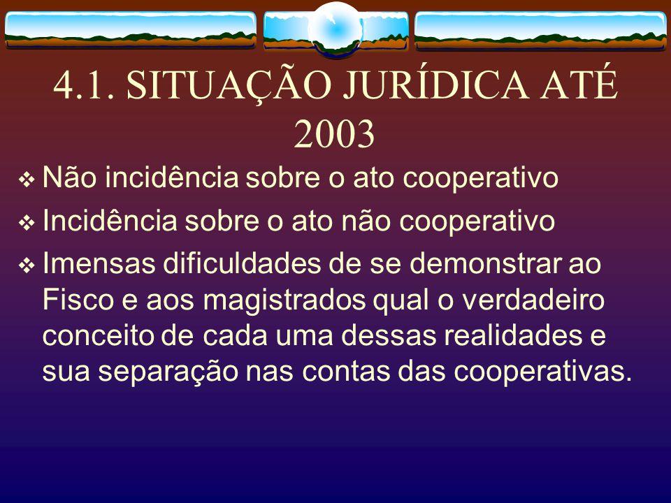 3.1. Situação Fática até 2003…. Um passivo federal e municipal impagável e dificuldades em participar de licitações e contratos com o poder público.