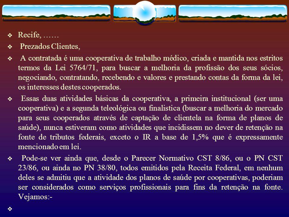 6.1. Modelo alternativo proposto… Tributos Federais Levar à tributação, nas faturas e recibos, a base da MP 2158. Não reter na fonte o IR sobre a prod