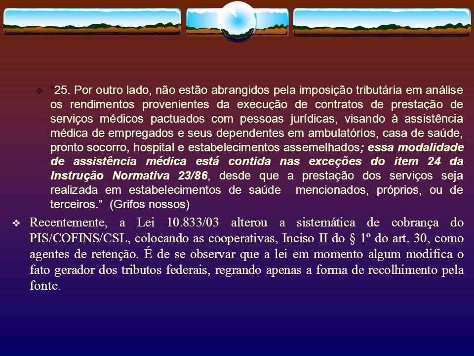 Recife, …… Prezados Clientes, A contratada é uma cooperativa de trabalho médico, criada e mantida nos estritos termos da Lei 5764/71, para buscar a me