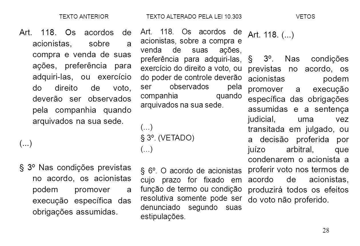 28 Art.118.