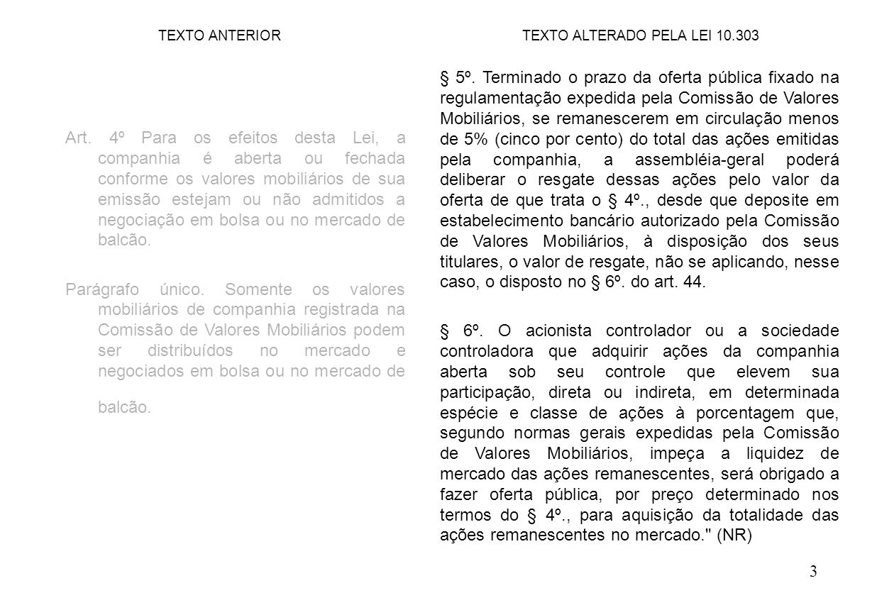 24 Art.109. (...) (...) § 3º.