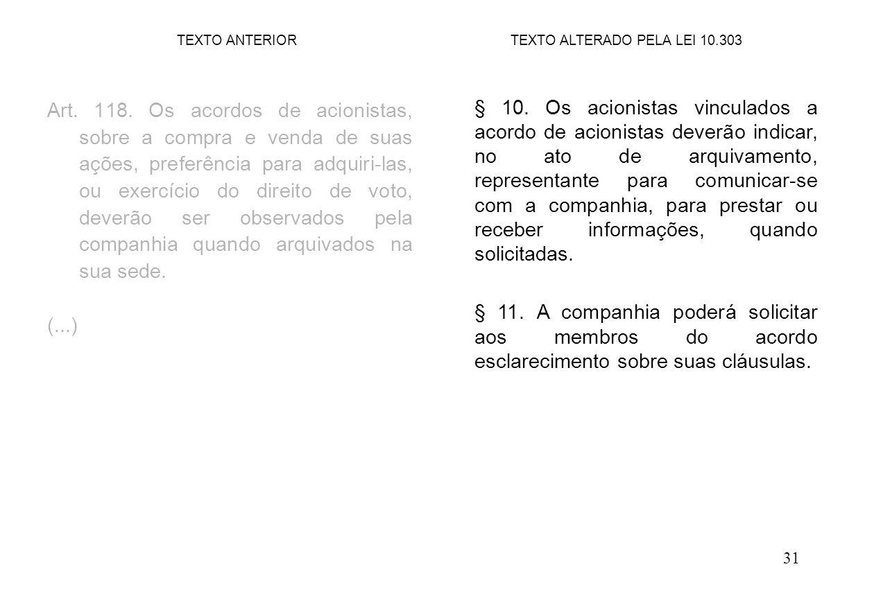 31 Art.118.