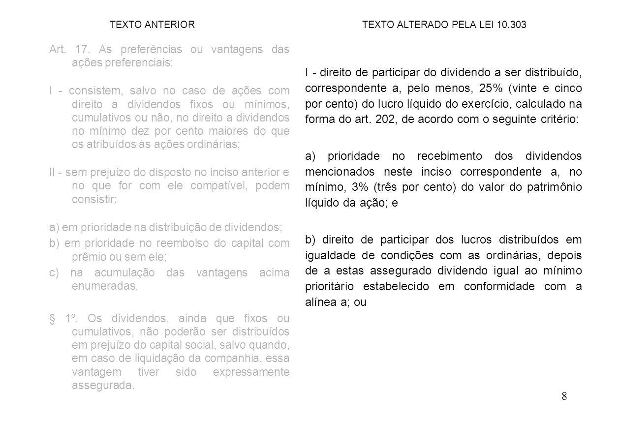 19 Art.54. (...) § 1º.