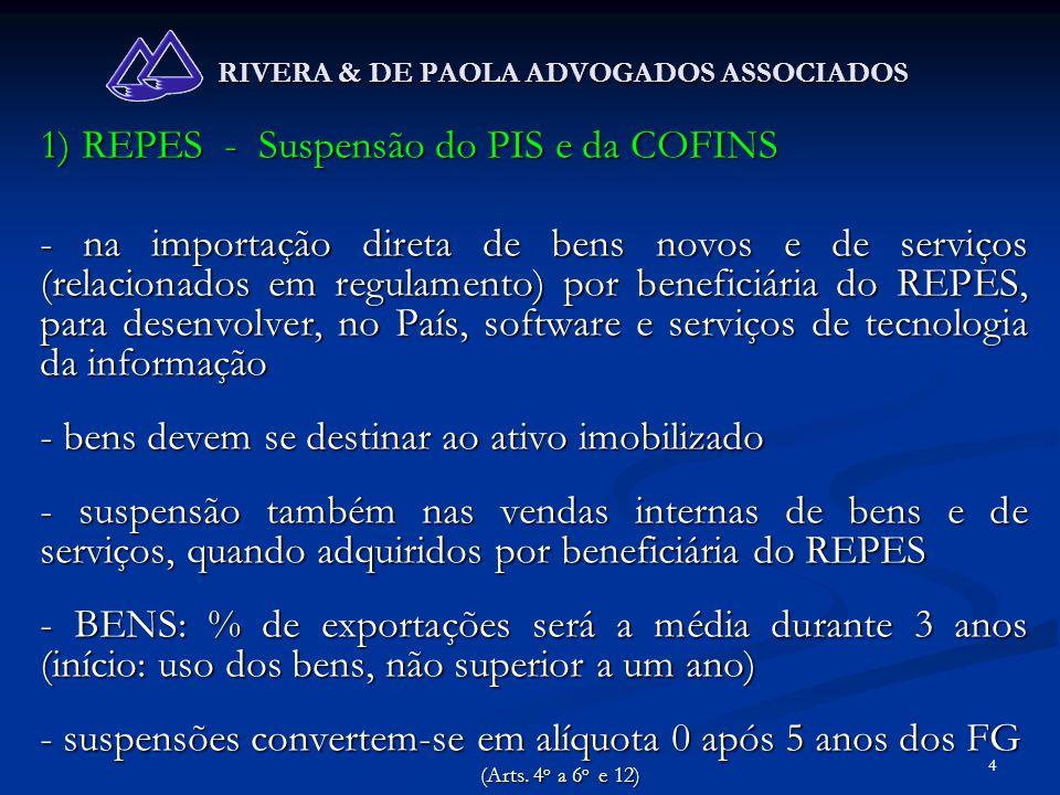 55 RIVERA & DE PAOLA ADVOGADOS ASSOCIADOS www.riveraedepaola.adv.br Telefone: (41) 3223-4059