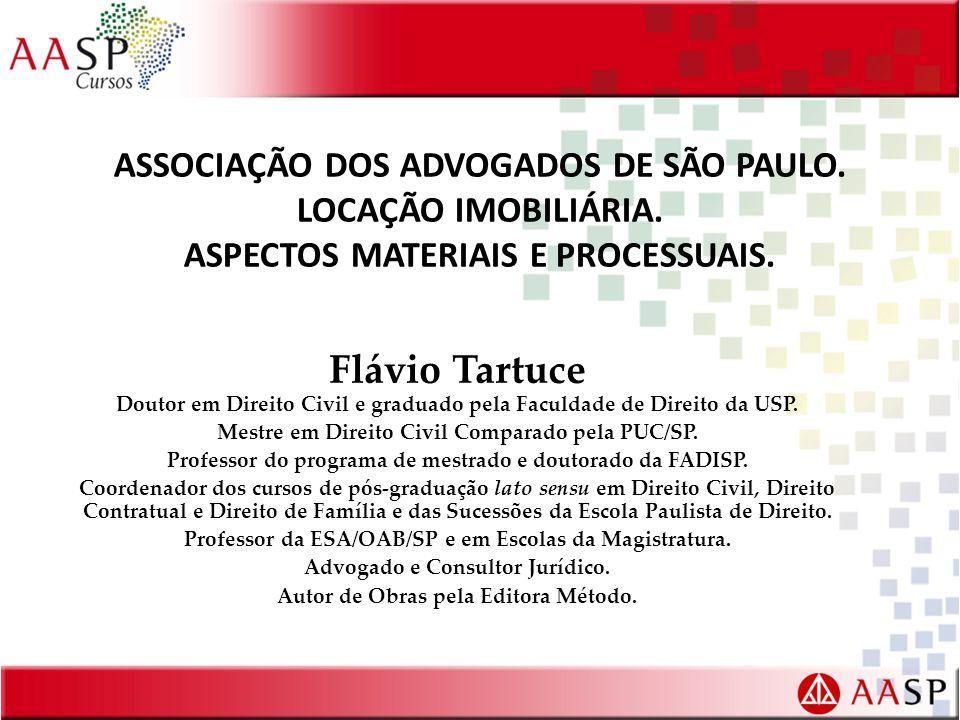 ASSOCIAÇÃO DOS ADVOGADOS DE SÃO PAULO.LOCAÇÃO IMOBILIÁRIA.