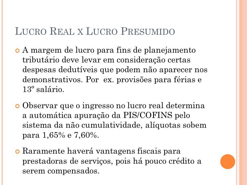 OPERAÇÕES PREOCUPANTES – ANALISAR CASO A CASO Autonomização (segregação) de Operações Operação complexa é dividida em partes, reguladas por contratos distintos.