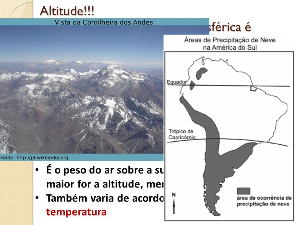 Massas equatoriais ocorre nas baixas latitudes (ZCIT) Quentes e úmidas mEm- marítima mEc- continental Massas tropicais Ocorre próximas aos trópicos (25° e 30°) mTm- marítima bastante úmidas; mTc- continental são secas.
