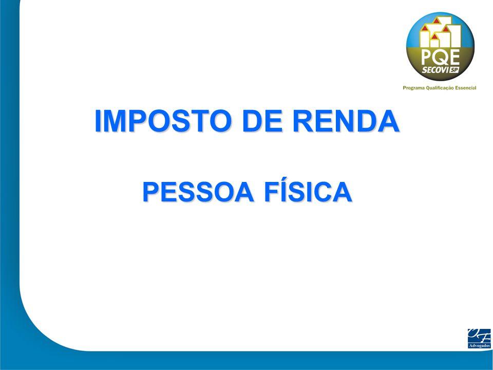 3 IR - PESSOA FÍSICA IR - PESSOA FÍSICA COMPRA E VENDA IR = 15% sobre o Ganho de Capital Valor de Venda...........................
