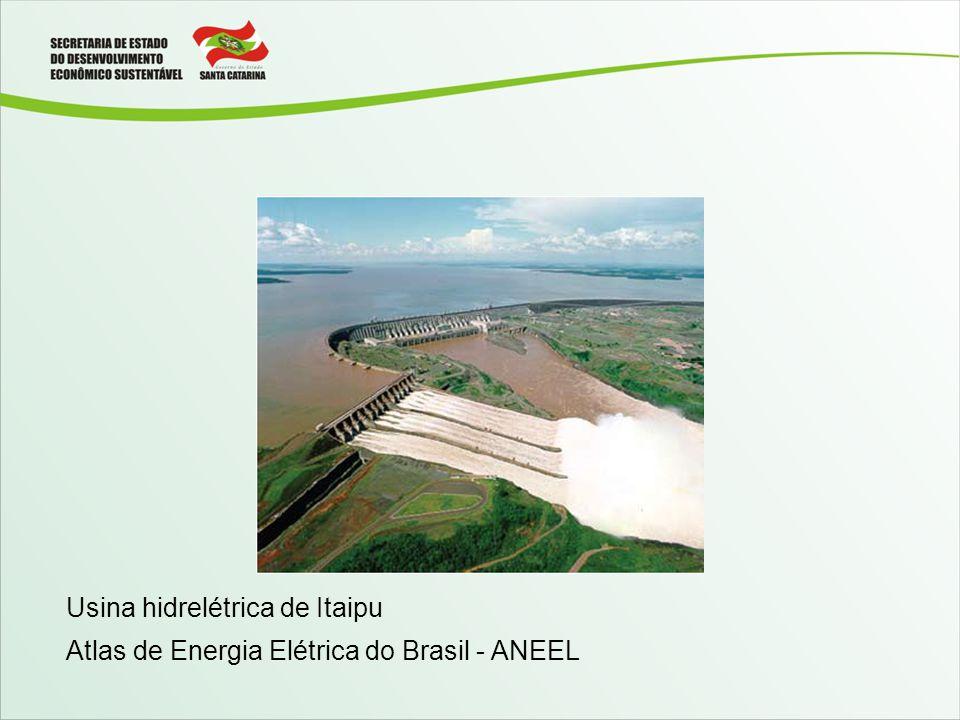 Usina hidrelétrica de Itaipu Atlas de Energia Elétrica do Brasil - ANEEL