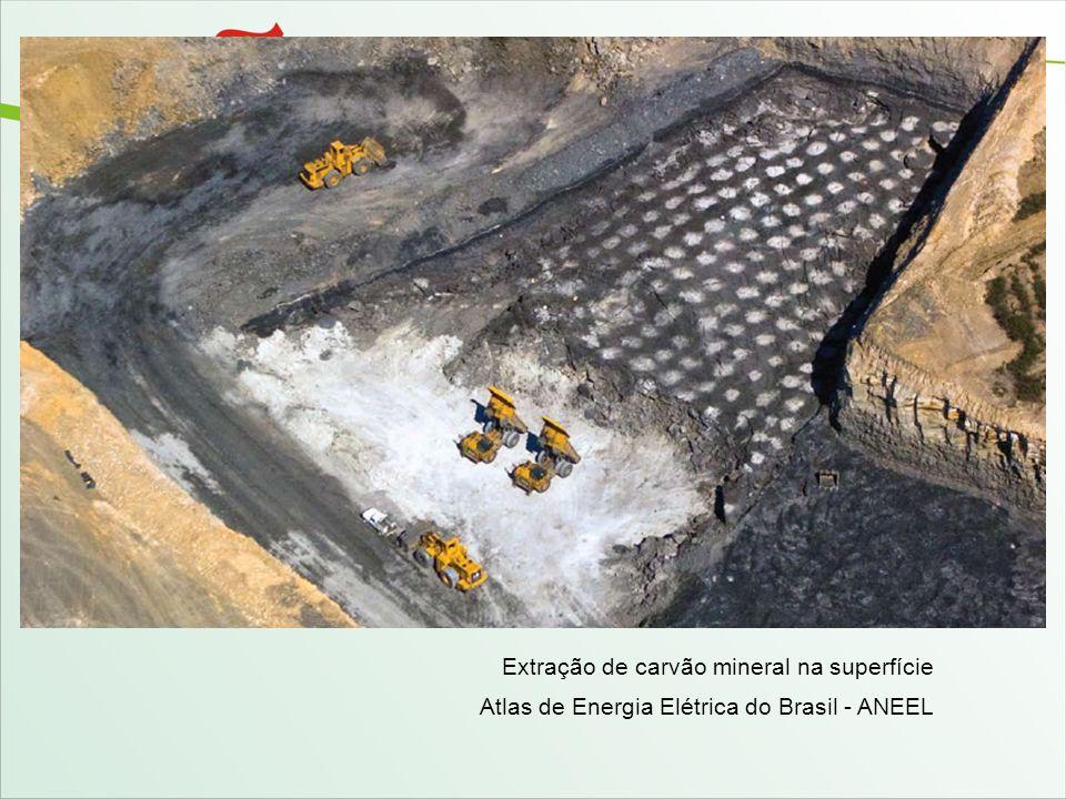 Extração de carvão mineral na superfície Atlas de Energia Elétrica do Brasil - ANEEL