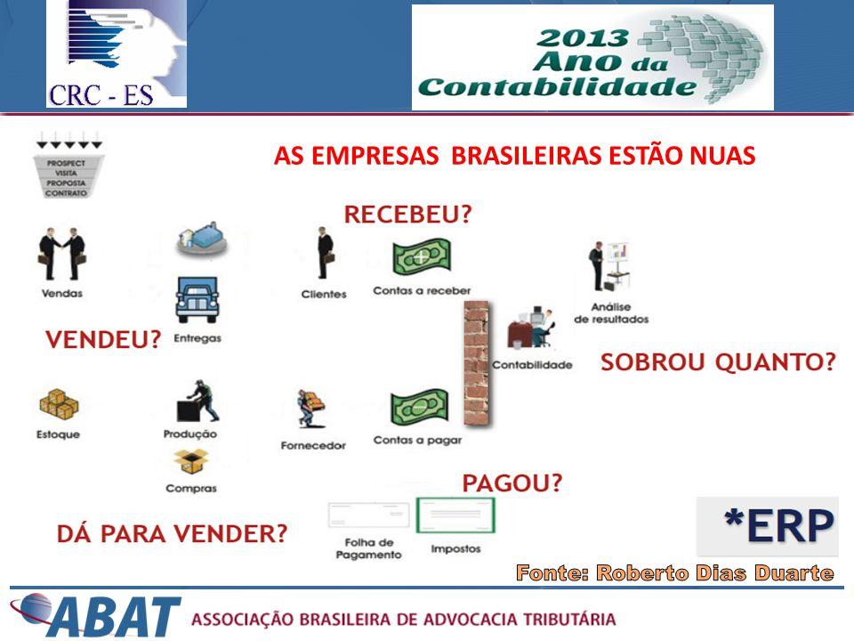 AS EMPRESAS BRASILEIRAS ESTÃO NUAS