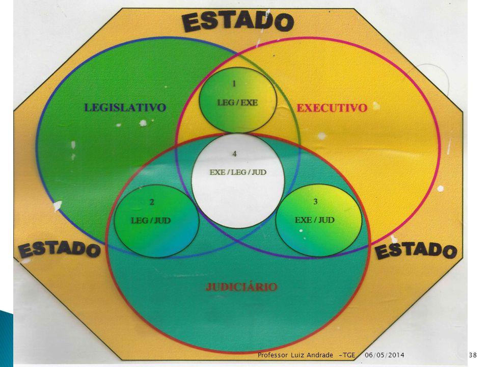 06/05/2014 38Professor Luiz Andrade -TGE