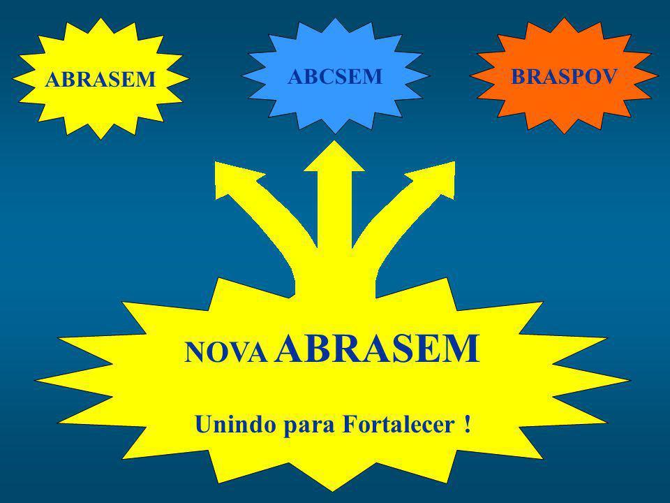 ABRASEM BRASPOV NOVA ABRASEM Unindo para Fortalecer ! ABCSEM