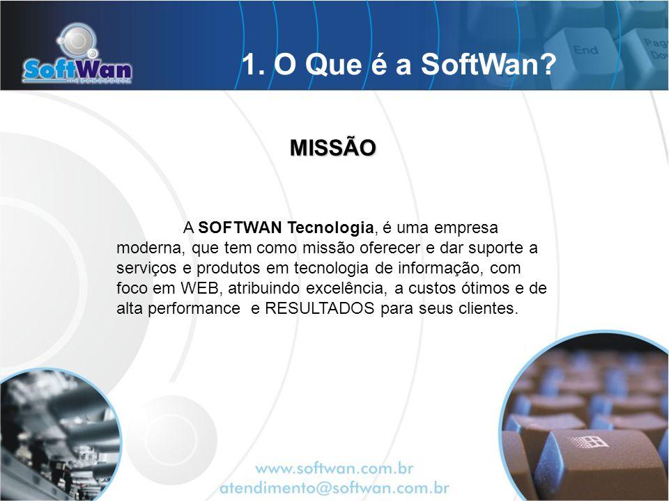 A SOFTWAN Tecnologia, é uma empresa moderna, que tem como missão oferecer e dar suporte a serviços e produtos em tecnologia de informação, com foco em