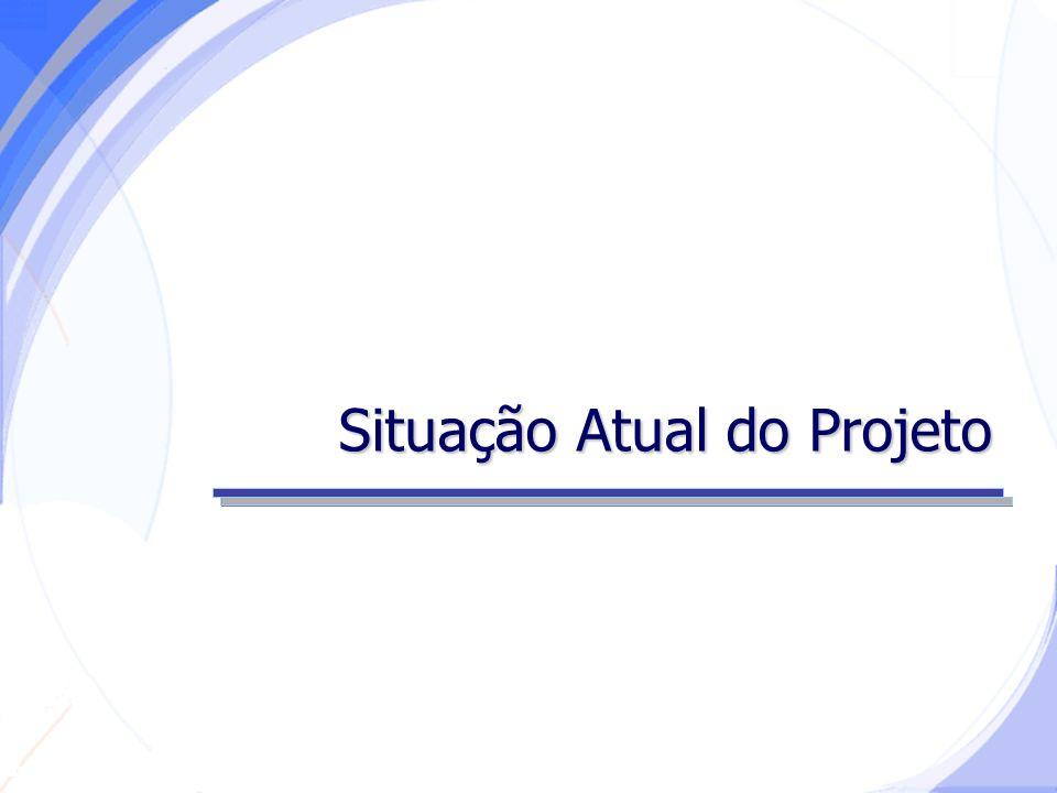 Secretaria da Fazenda Situação Atual do Projeto