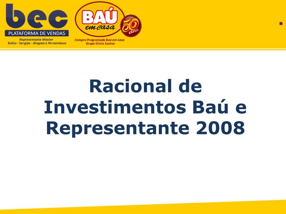 Racional de Investimentos Baú e Representante 2008