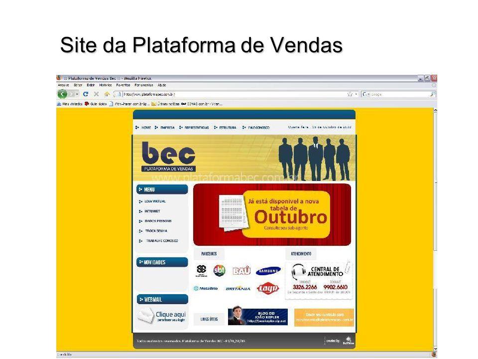 Site da Plataforma de Vendas Site da Plataforma de Vendas
