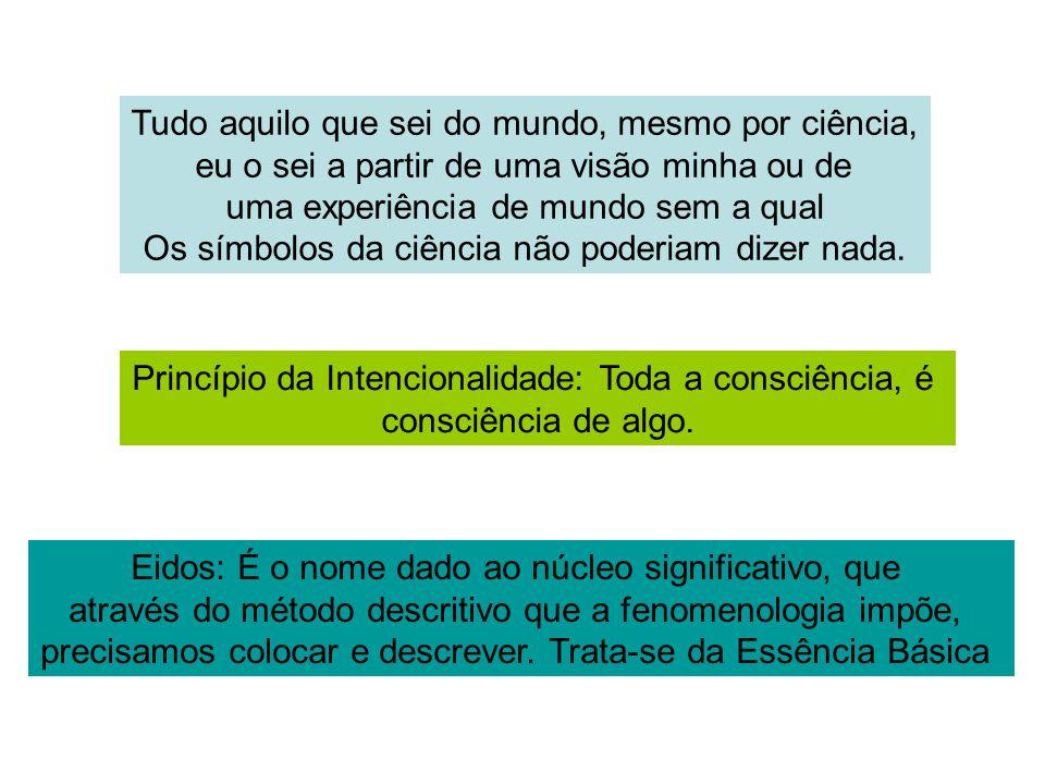 Referência Forghieri, Y.(2004). Psicologia fenomenológica: fundamentos, método e pesquisas.