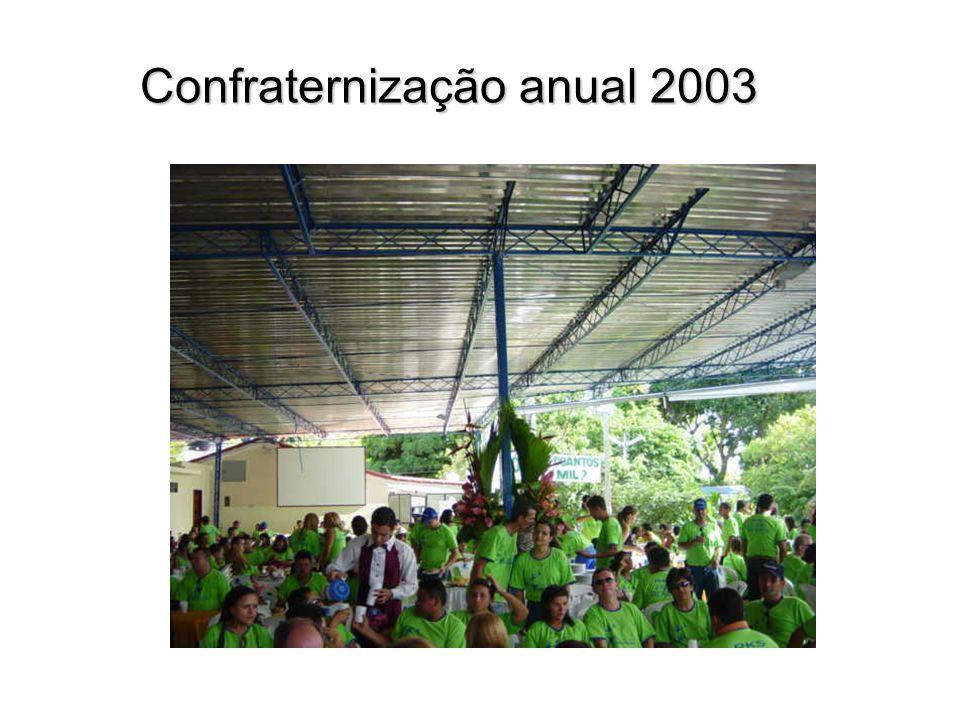 Confraternização anual 2003 Confraternização anual 2003