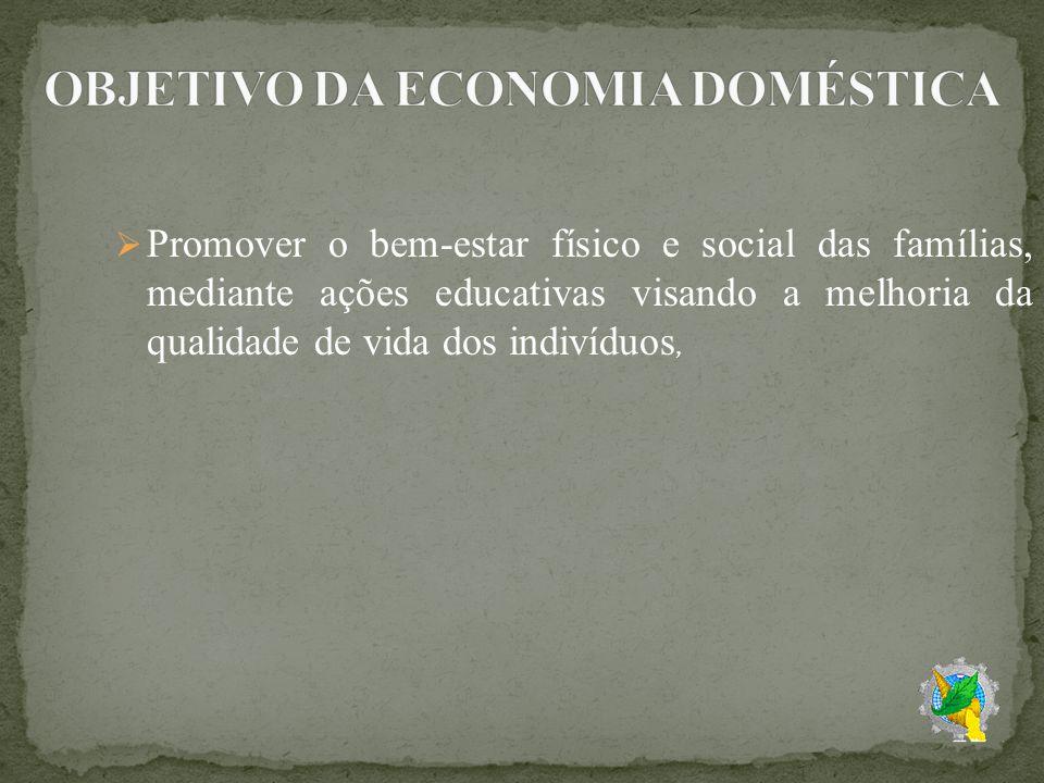 Graduação (bacharelado e licenciatura) e pós-graduação (mestrado e doutorado) Das quais se destacam a UFRPE – Universidade Federal Rural de Pernambuco, No exterior, de acordo com a Federação Internacional de Economia Domestica,