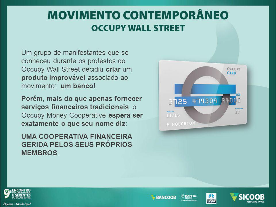 Um grupo de manifestantes que se conheceu durante os protestos do Occupy Wall Street decidiu criar um produto improvável associado ao movimento: um ba