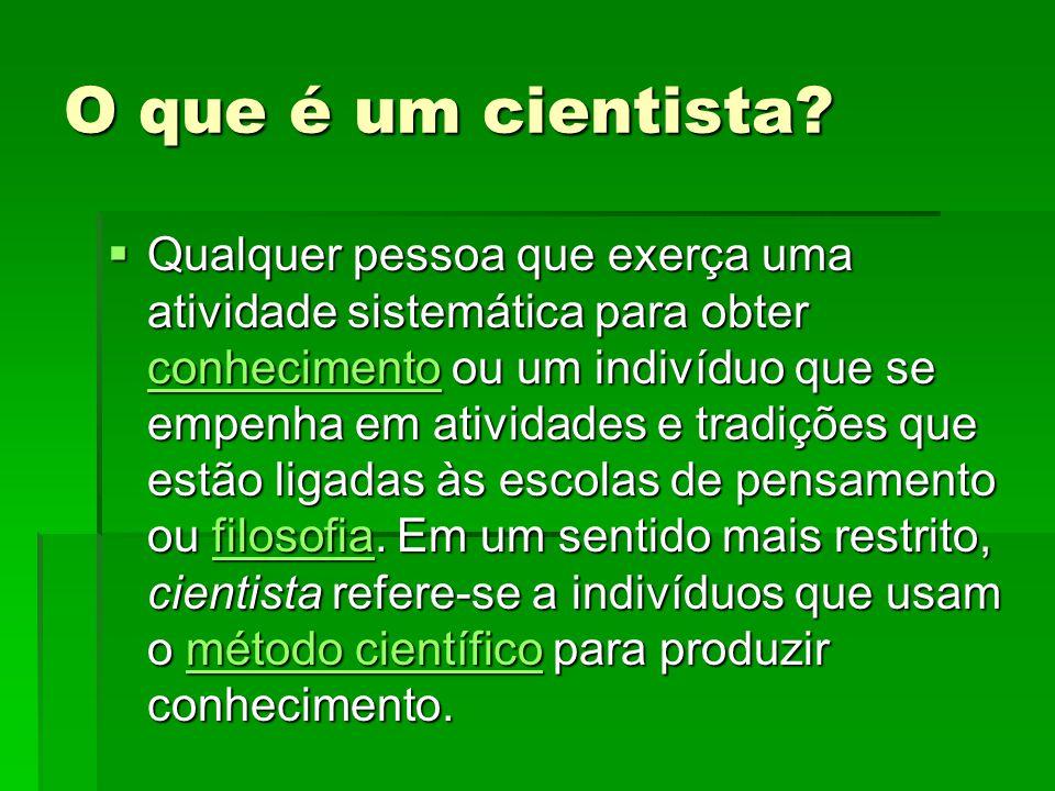 O que é ciência.
