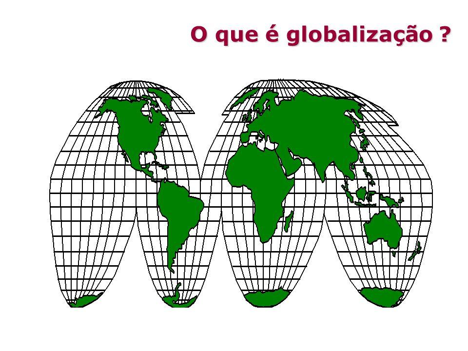 O que é globalização ?
