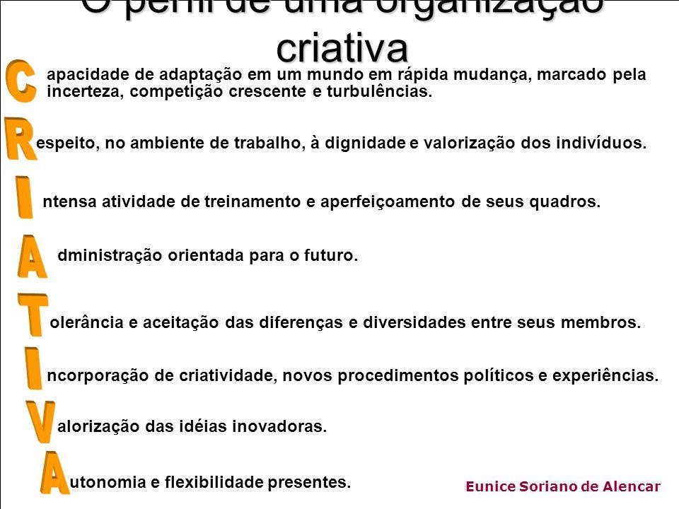 Eunice Soriano de Alencar utonomia e flexibilidade presentes.