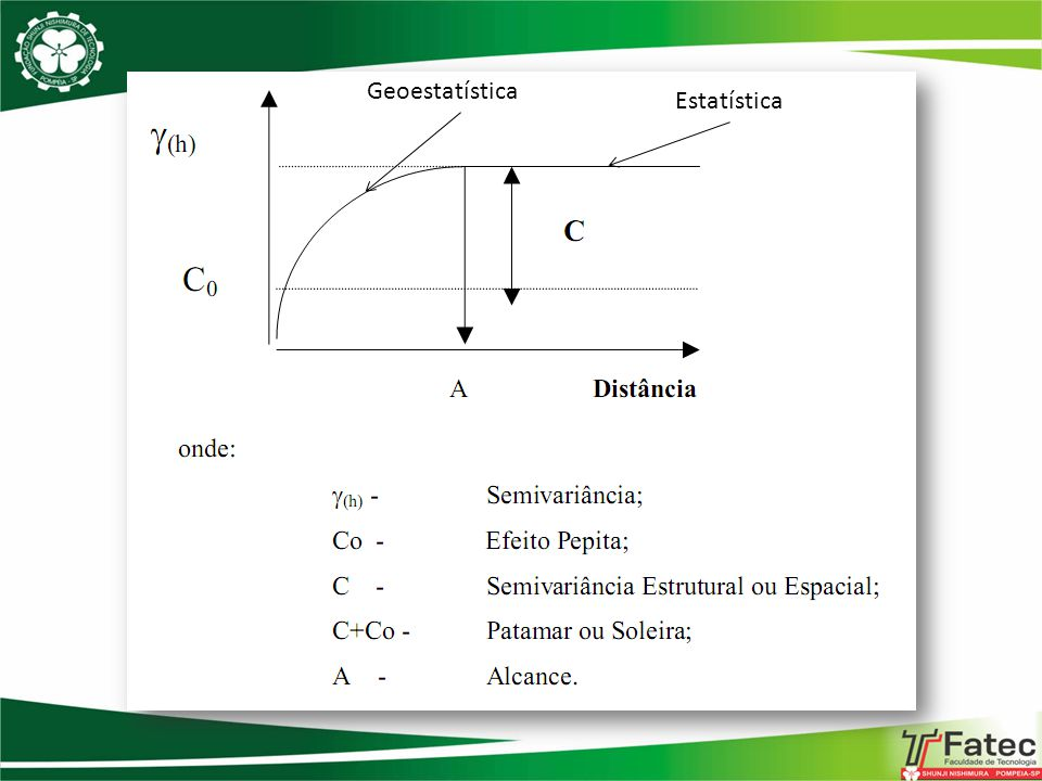 Geoestatística Estatística
