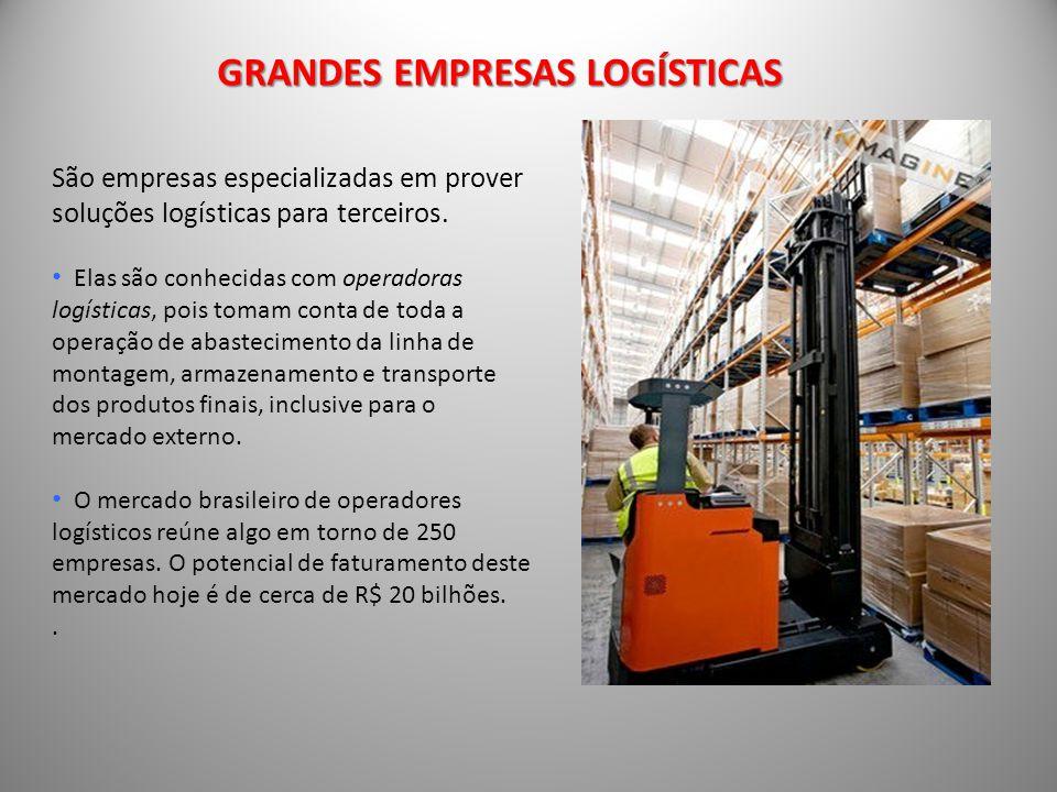São empresas especializadas em prover soluções logísticas para terceiros.
