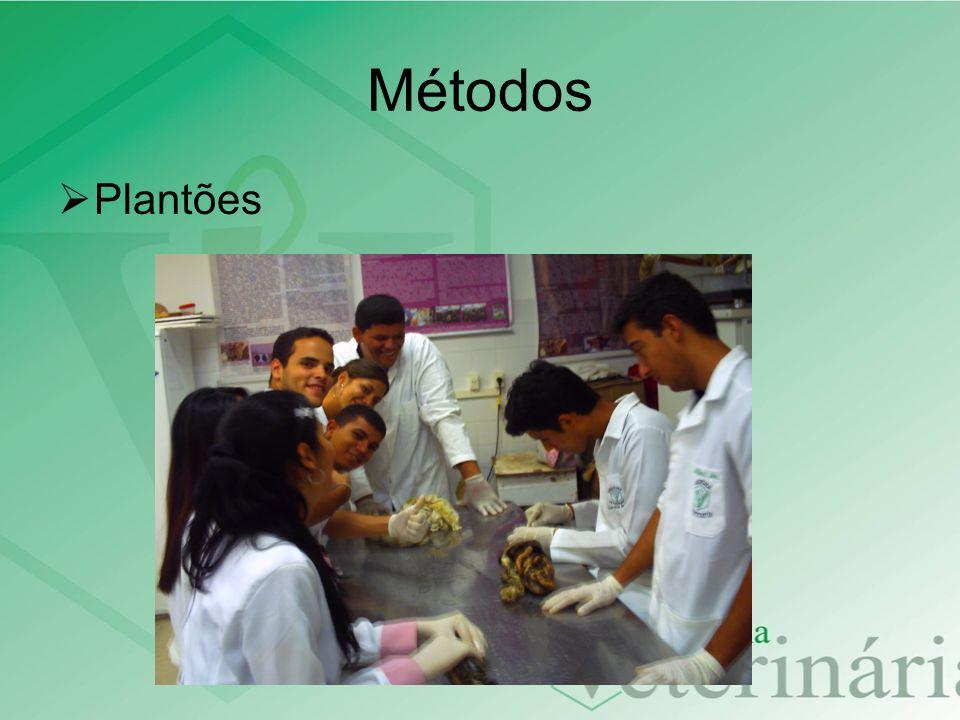 Métodos Plantões