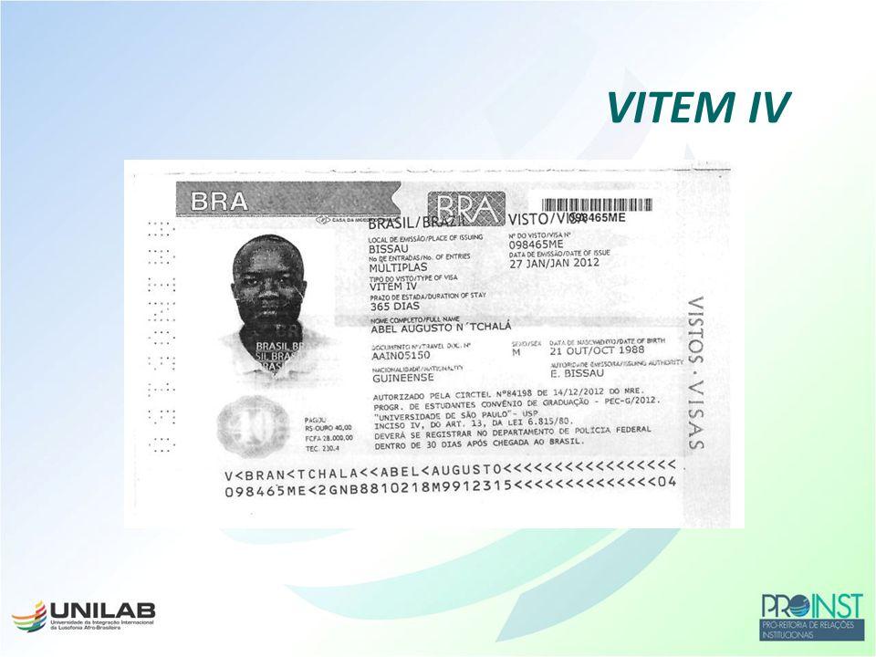 Divisão de Temas Educacionais do Ministério das Relações Exteriores DCE Anotações no VITEM IV