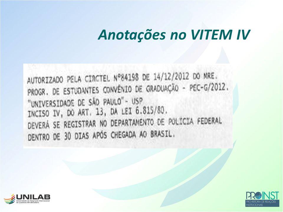 Divisão de Temas Educacionais do Ministério das Relações Exteriores DCE Para os que farão o CELPE-Bras no Brasil Anotações no VITEM IV